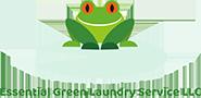 Essential Green Laundry Service Logo